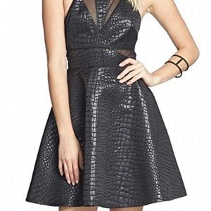ASTR Women's sheer dress